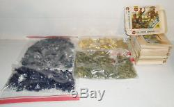 Vintage HUGE LOT 1970s Airfix WWI, WWII, Civil War, HO-OO Scale Plastic Soldiers