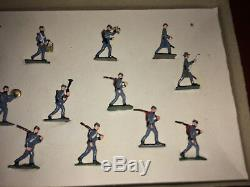 Vintage SAE 30mm No. 1062 Civil War Confederate Infantry Marching Set in Box