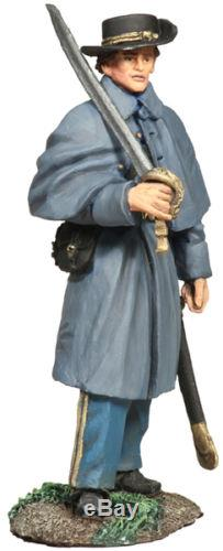 WBritains Confederate Infantry Officer In Winter Clothing No 1 31161 Civil War