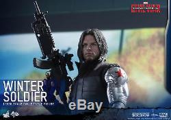 WINTER SOLDIER Hot Toys 16 Captain AmericaCivil War MMS351 902656 NRFB