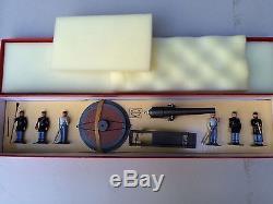 WM Hocker Toy Soldiers ACW (Civil War) NO. 358 Union 100-PDR Parrott Rifle withbox