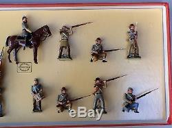 WM Hocker Toy Soldiers ACW (Civil War) NO. 363 Confederate Infantry in Action