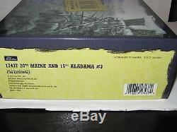 W BRITAIN 17437 American Civil War 20th Maine And 15th Alabama #3