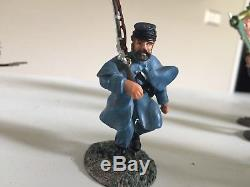 W. Britain 17017 clear the way union soldiers civil war set + 4 add on set