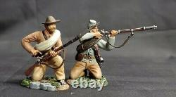 W. Britain 17938 American Civil War Confederate Infantry Firing Line Britains