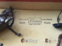W. Britain 2056 American Civil War 1862, 5 piece Union Cavalry in Original Box