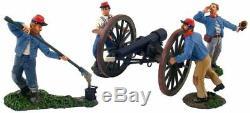 W. Britain 31032 Confederate Artillery Set #2 The American CIVIL War Mib