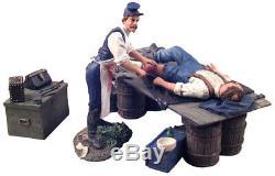 W. Britain 31075 130 American Civil War Union Surgery set mint in box