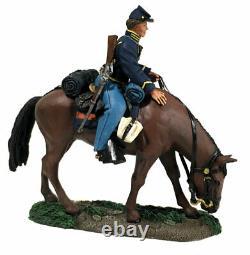 W Britain 31277 ACW American Civil War Federal Cavalry Trooper Mounted No 1