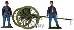 W. Britain American Civil War Federal Light Artillery Limber with 2 Crew 31291