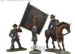 W. Britain, American Civil War Gettysburg Union Command Set #17223 MIB