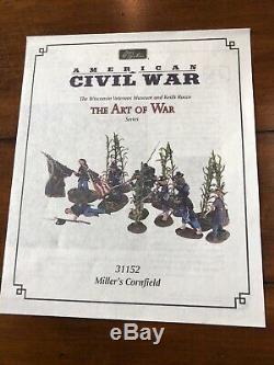 W Britain American Civil War Millers Cornfield 6th Wisconsin Regiment Antietam