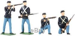W. Britain American Civil War Union Infantry Set No. 1 49027 Archive