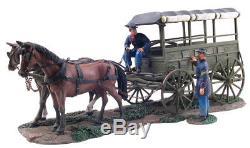 W. Britain American Civil War Union Rucker Ambulance Wagon 31052 ACW Medical