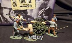 W. Britain Civil War 17239 Confederate Artillery Set Britains