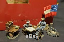 W. Britain Civil War 31207 Decisive Day with Lee, Early, and Ewell Britains