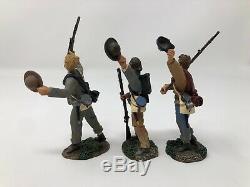 W. Britain Civil War Stonewall Brigade, 5th Virginia Infantry 3 Figures -17835