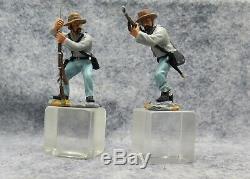 W Britain Civil War Toy Soldiers 20th Maine & 15th Alabama #3 17437 (Inv #20)