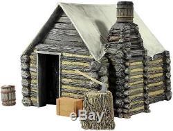 W Britain Soldiers 51039 Scenics Collection American Civil War Winter Hut No 1