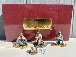 W Britains 17428 US Civil War Confederate Camp Scene Original Box Metal Figures