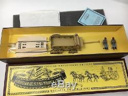 W Britains 8870 American Civil War Confederate Supply Wagon & Crew