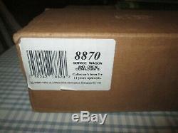 W Britains 8870 American Civil War Confederate Supply Wagon & Crew-Boxed
