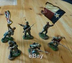 William Britains 17016 132 American Civil War Lone Star Art Of War Series Set
