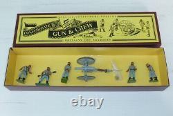 William Britains American Civil War Confederate Gun and Crew Item 8876