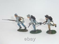 William Britains American Civil War Confederate Infantry Charging Set 1 17930