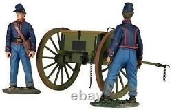 William Britains American Civil War, Federal Artillery Limber with Crew, 31291