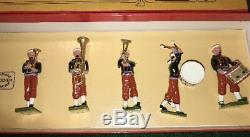 William Hocker Toy Soldiers, American Civil War, 114th Penn. Zouave Band