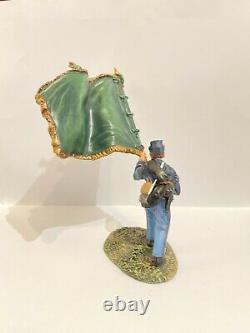 William King Britains Sef15 American CIVIL War Union Irish Brigade Flag Bearer