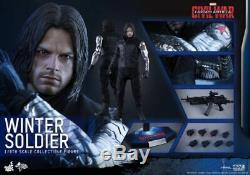 Winter Soldier Sixth Scale Figure by Hot Toys Captain America Civil War