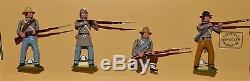 Wm. Hocker Am. Civil War Set #367/ Confederate Infantry Firing (Butternut)
